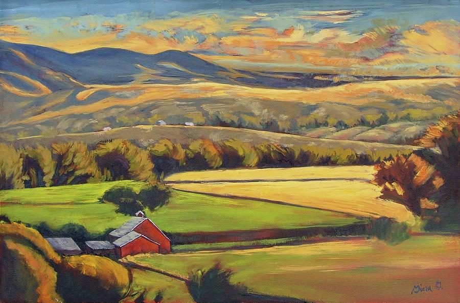 North Fork Panorama By Gina Grundemann