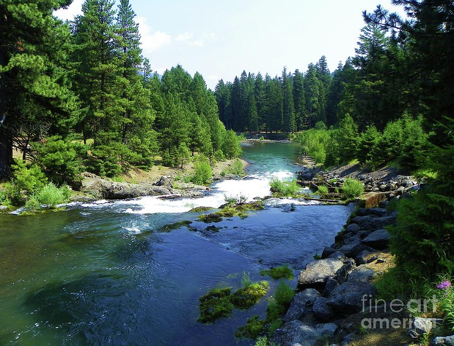 North Fork Tieton River - Washington Scenery Photograph  - North Fork Tieton River - Washington Scenery Fine Art Print