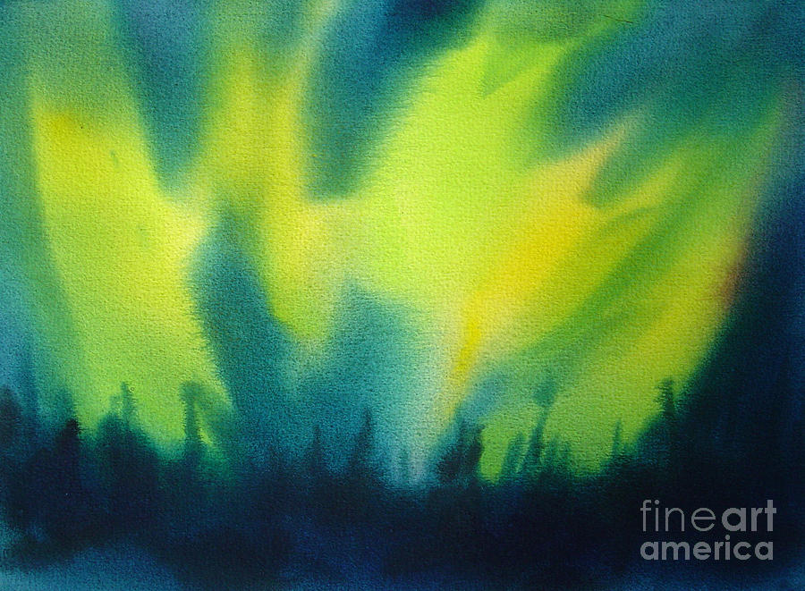 Northern Lights I Painting