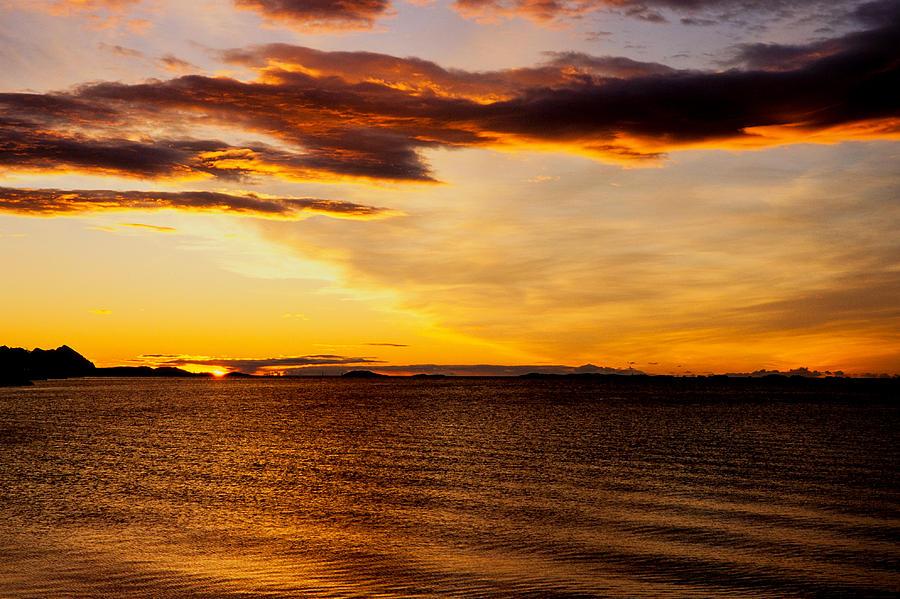 Bodo Photograph - Northern Sunset by Hakon Soreide