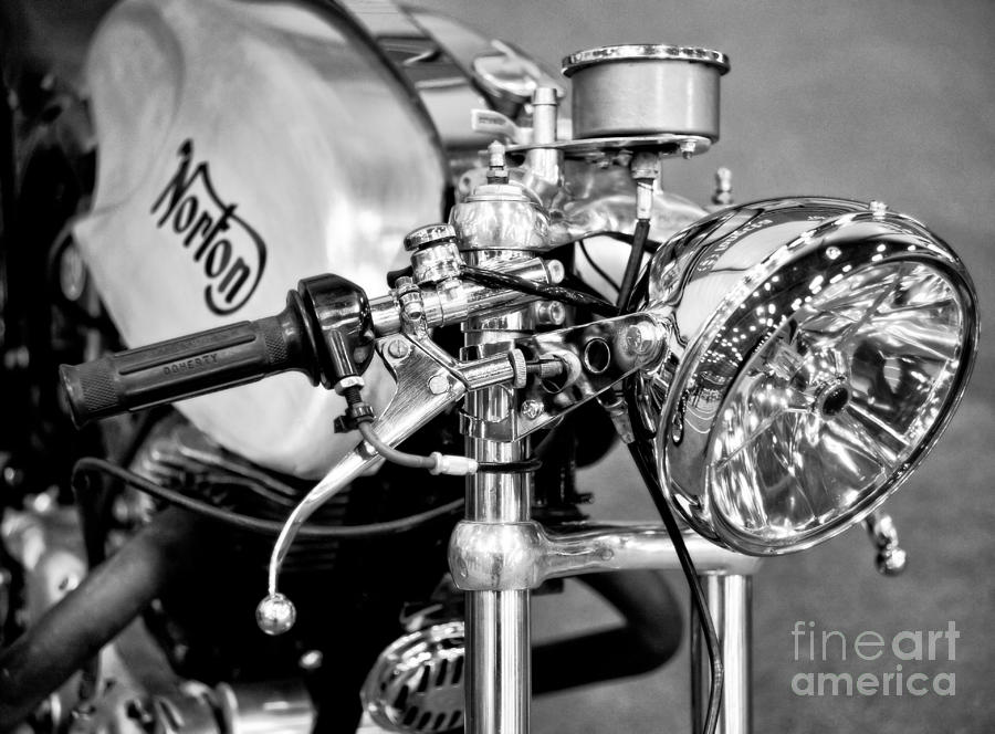 Norton Dominator Photograph  - Norton Dominator Fine Art Print