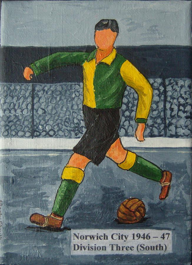 Norwich City 1946-47 Painting