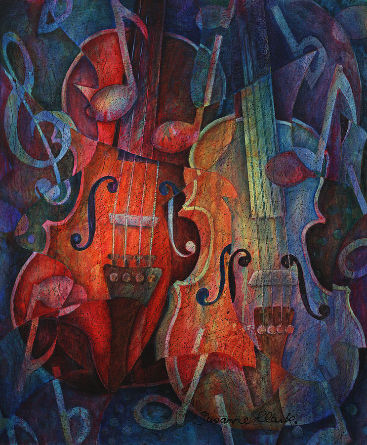 Noteworthy - A Viola Duo Painting