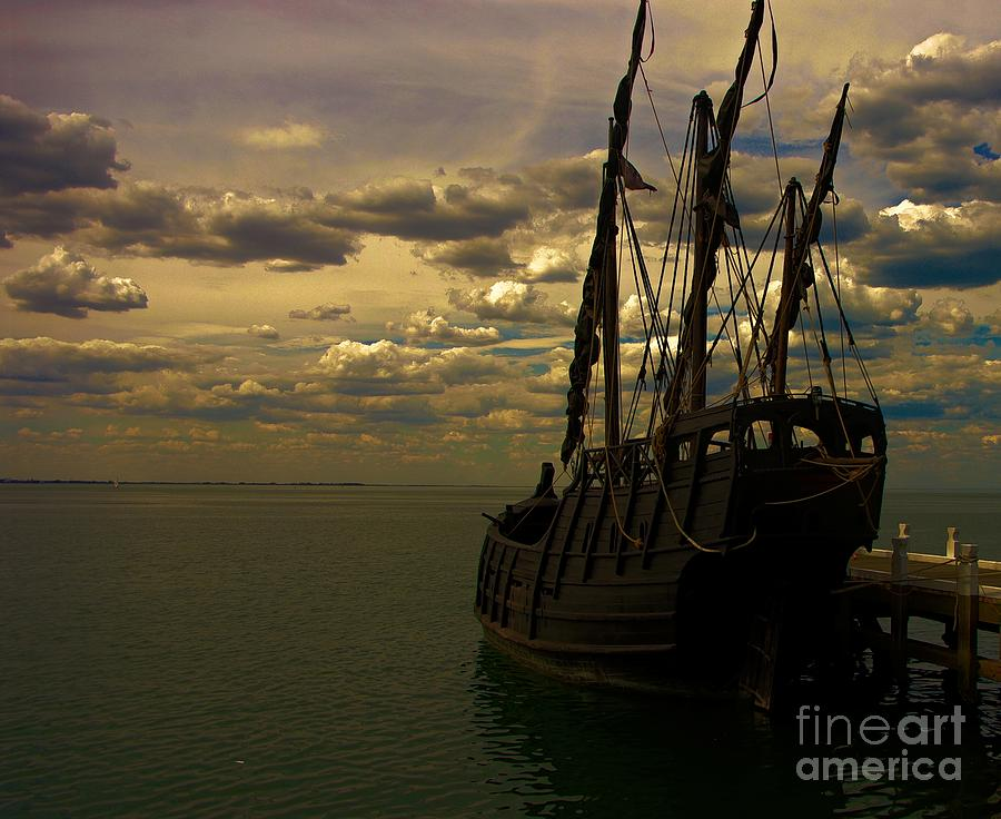 Notorious The Pirate Ship Photograph  - Notorious The Pirate Ship Fine Art Print
