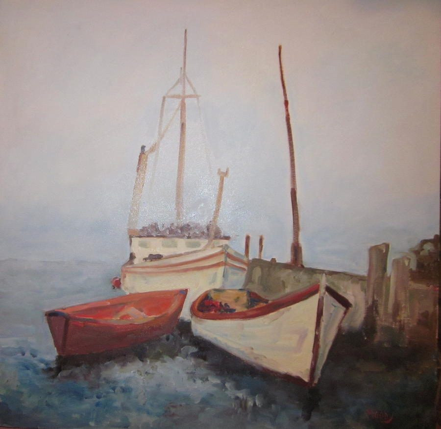 Nova Scotia 1969 Painting