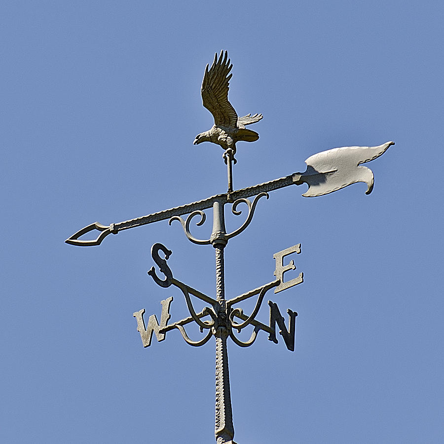 Weather Photograph - Nsew The Four Directions The Wind Blows by LeeAnn ...