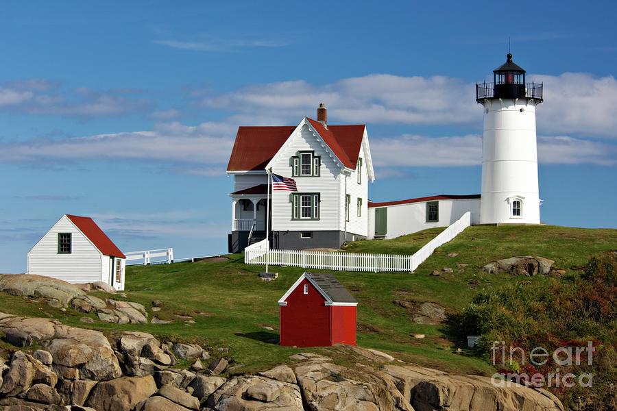 Nubble Lighthouse - D002365 Photograph