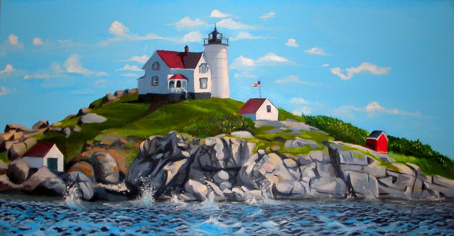 Nubble Painting