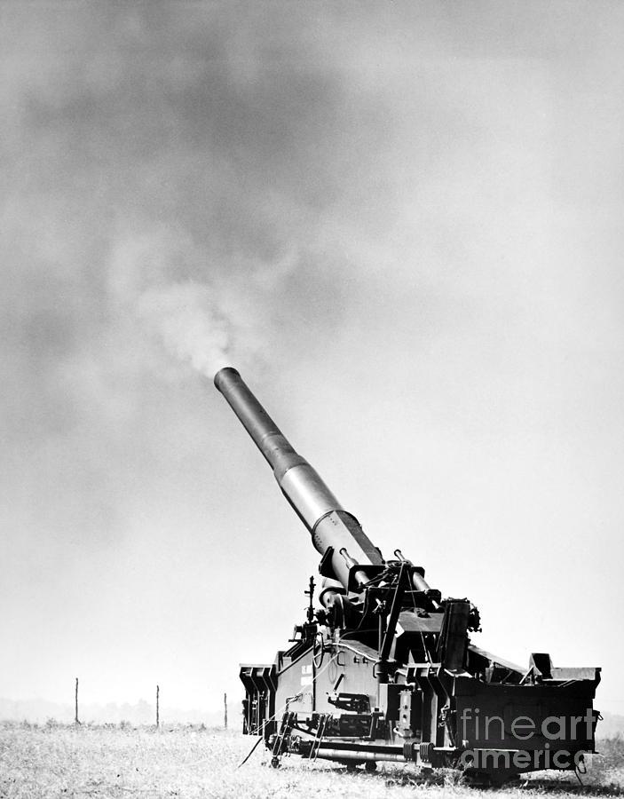Nuclear Artillery, 1950s Photograph