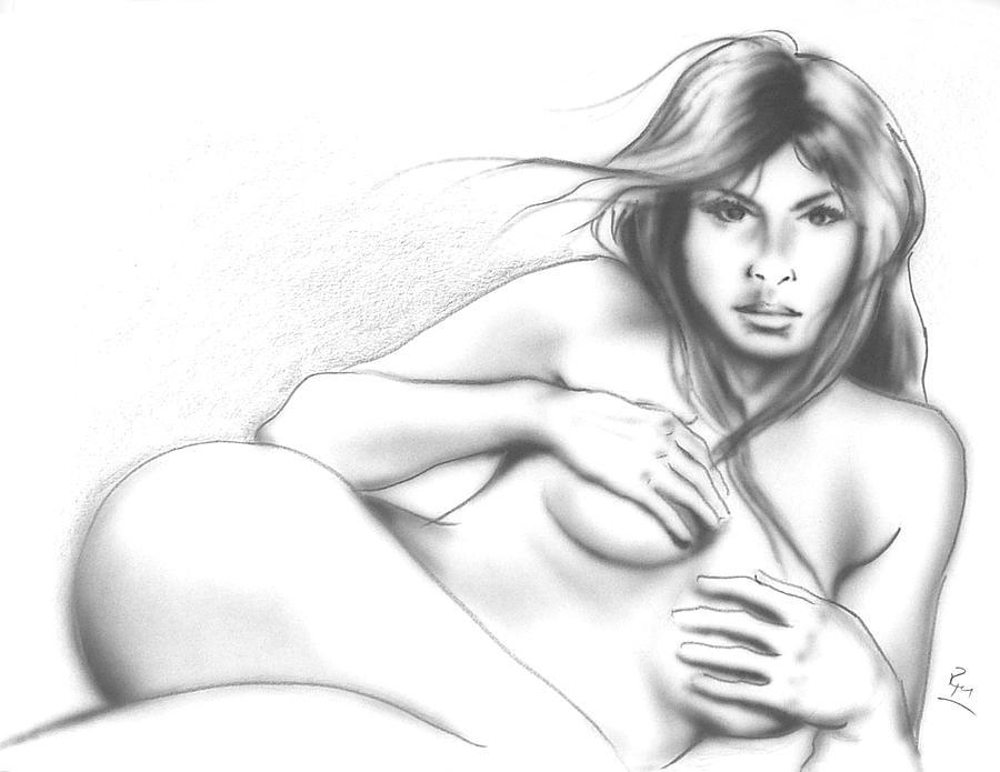 Nude 1 Mixed Media