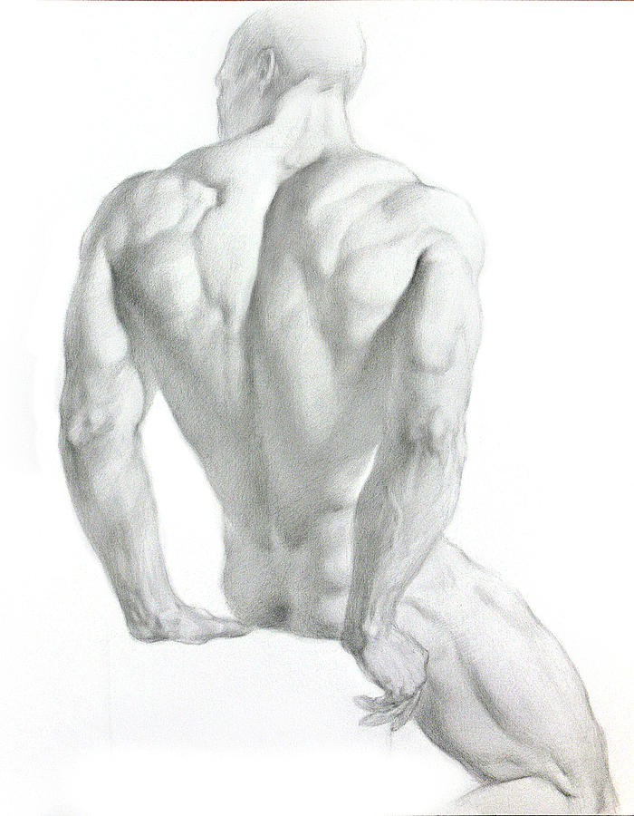 Nude 3 Drawing