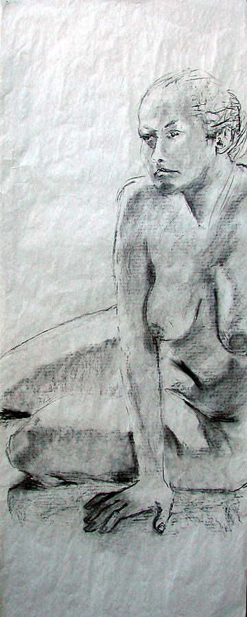 Nudes Painting - Nude 4794 by Elizabeth Parashis