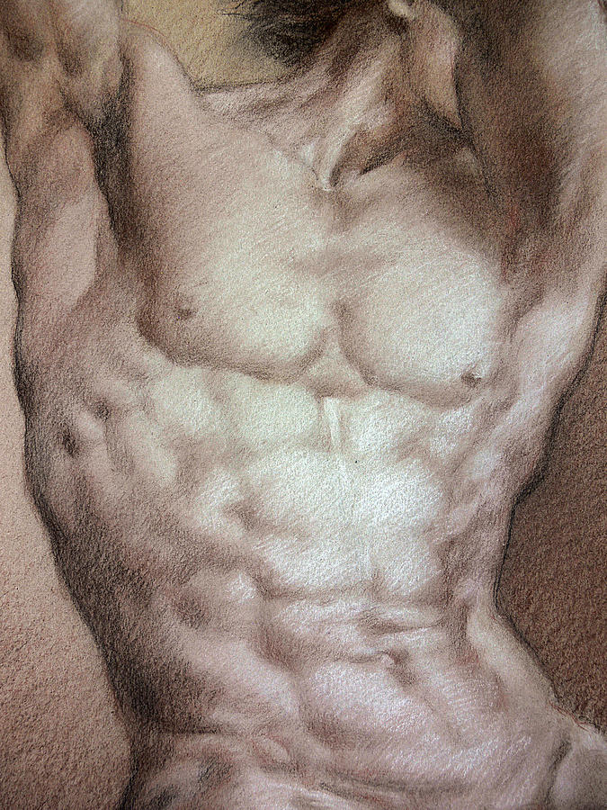 Nude 9 B Drawing