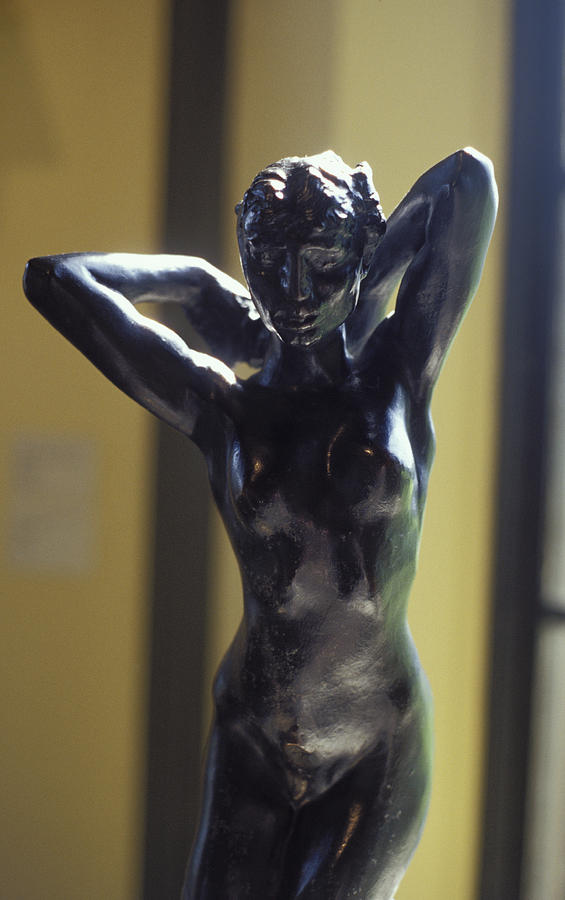 Nude By Rodin Sculpture  - Nude By Rodin Fine Art Print