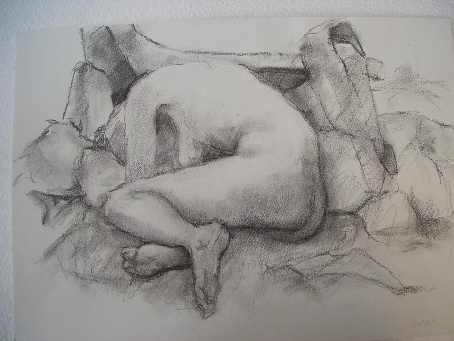Nude Drawing Drawing