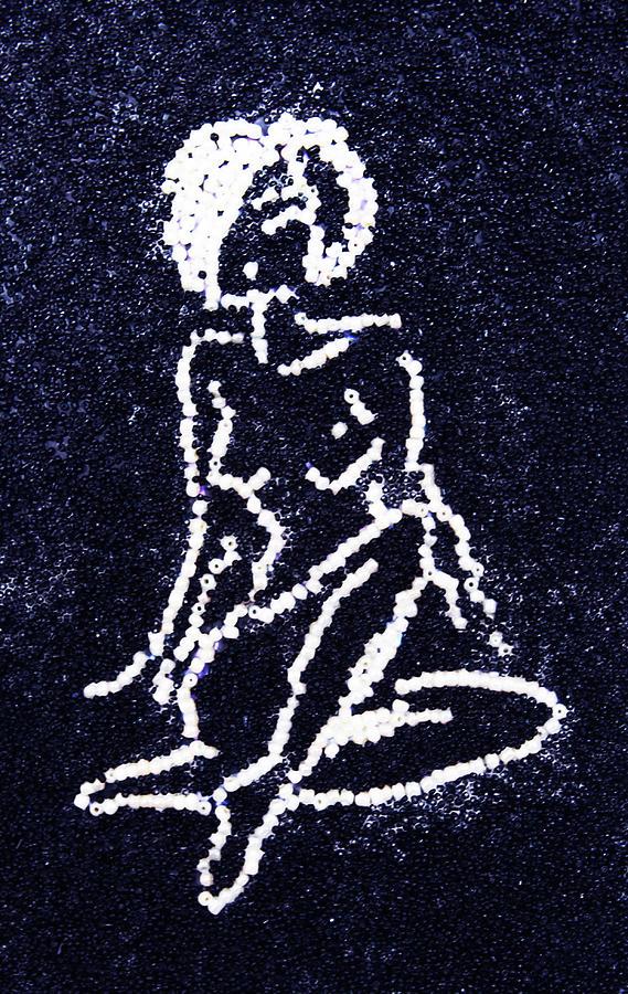 Nude Female Glass Art