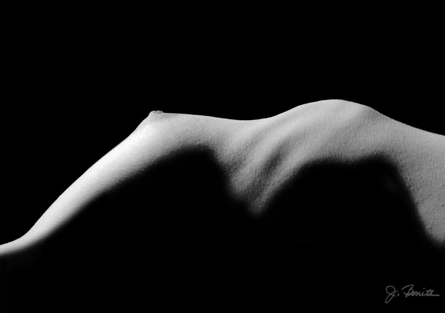 Nude In Contrast Photograph