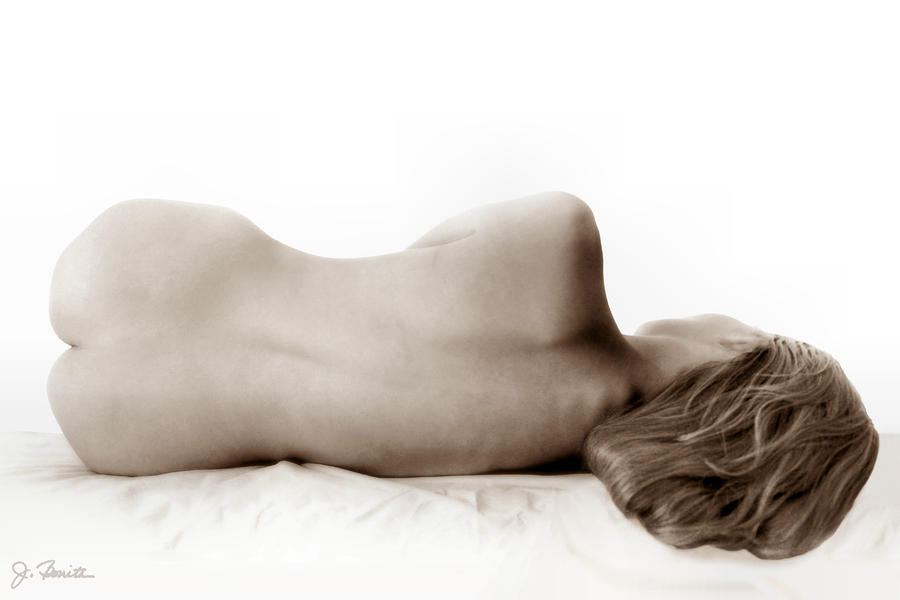 Nude In Repose Photograph  - Nude In Repose Fine Art Print