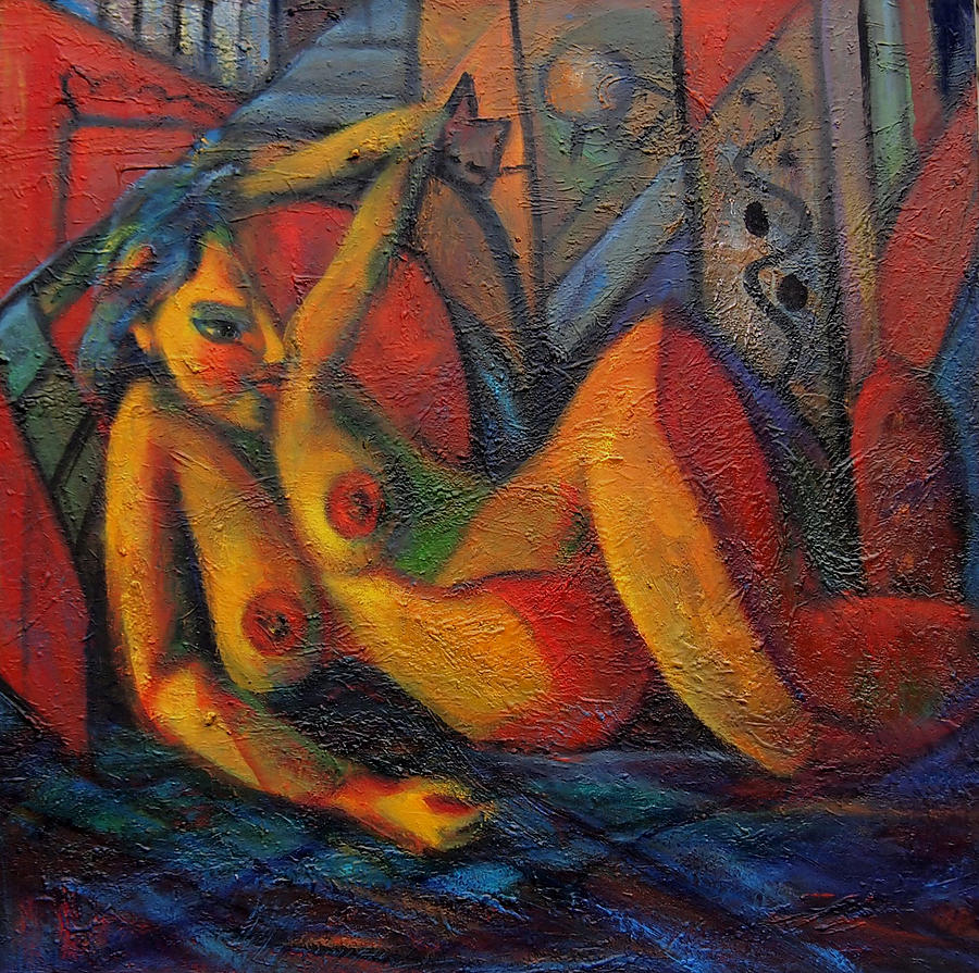 Nude No 1 Painting