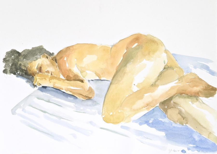 Nude Serie Painting