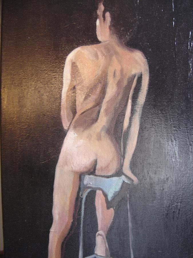 Nude Women Seated Paintings