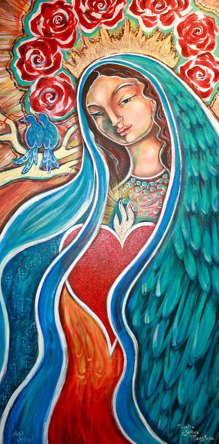 Nuestra Senora Maestosa Painting