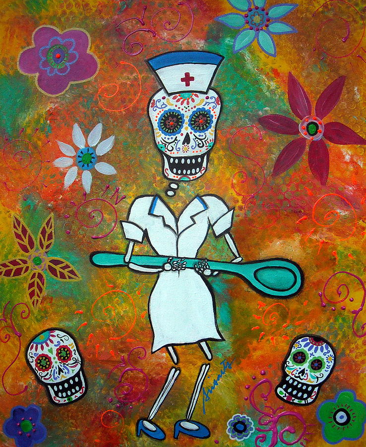 Nurse Painting  - Nurse Fine Art Print