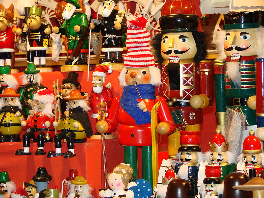 Nutcrackers Photograph  - Nutcrackers Fine Art Print