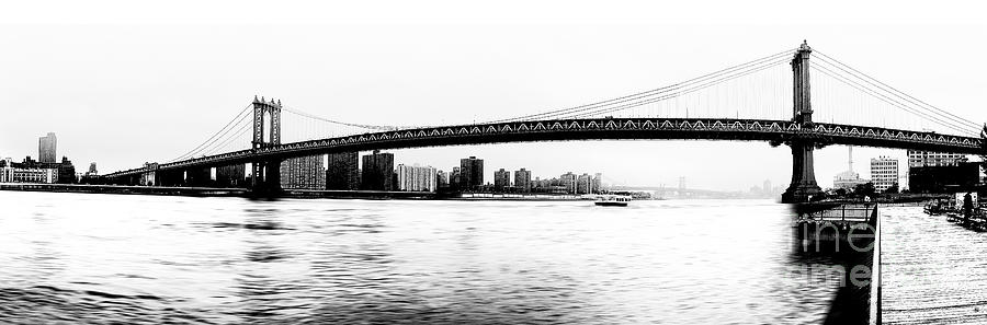 Nyc - Manhattan Bridge Photograph  - Nyc - Manhattan Bridge Fine Art Print