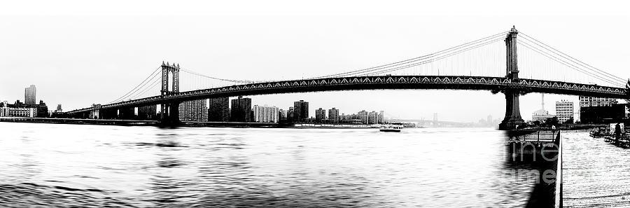 Ny Photograph - Nyc - Manhattan Bridge by Hannes Cmarits