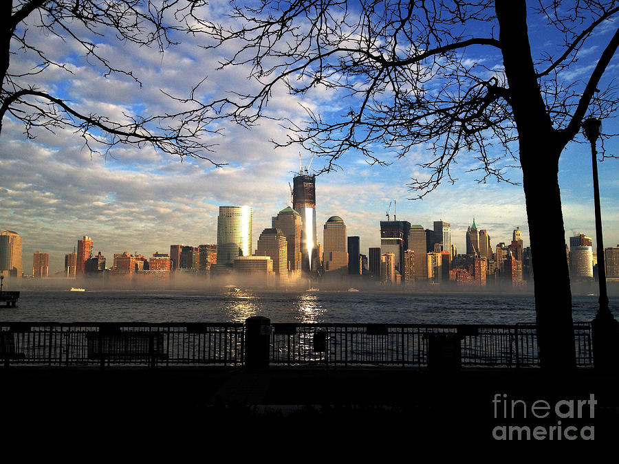 Nyc Fog Photograph  - Nyc Fog Fine Art Print