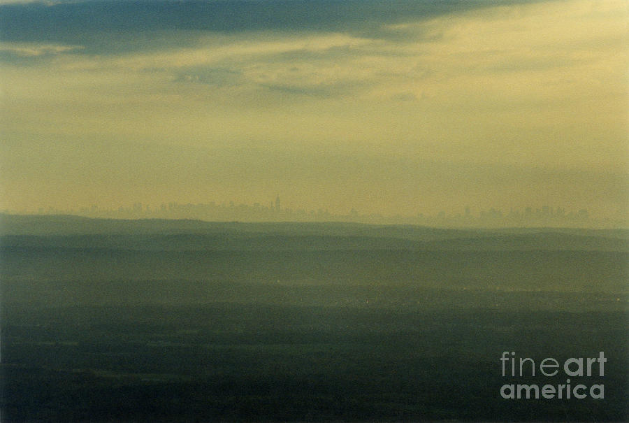Nyc Skyline Photograph  - Nyc Skyline Fine Art Print