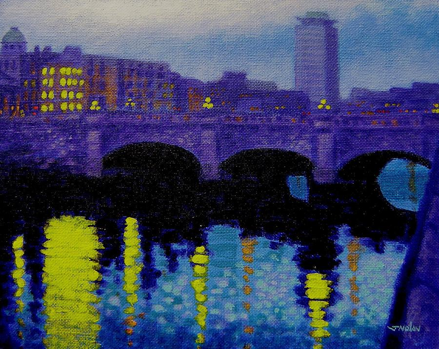 O Connell Bridge - Dublin Painting  - O Connell Bridge - Dublin Fine Art Print