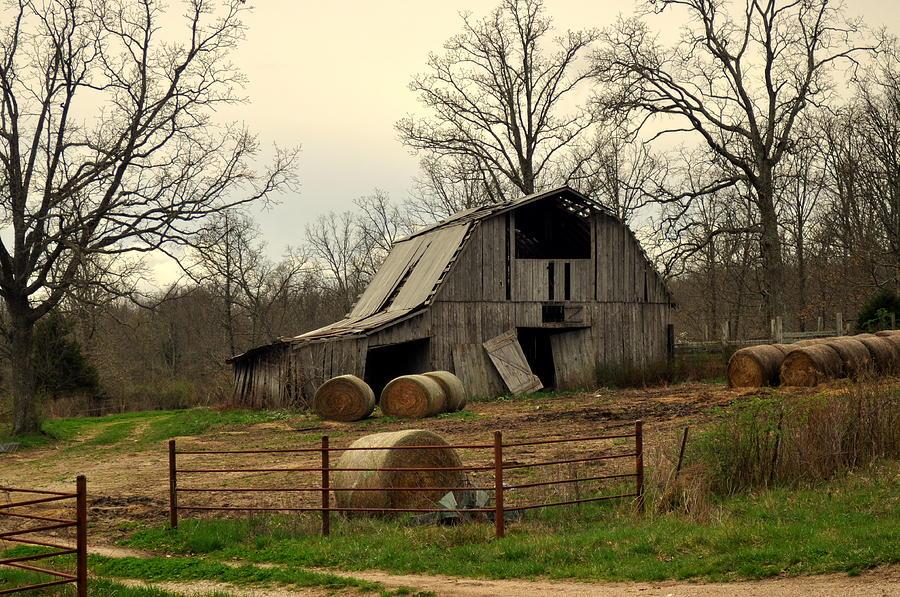 Oak Barn Photograph