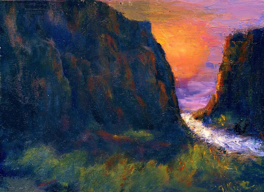 Oak Creek Canyon Painting