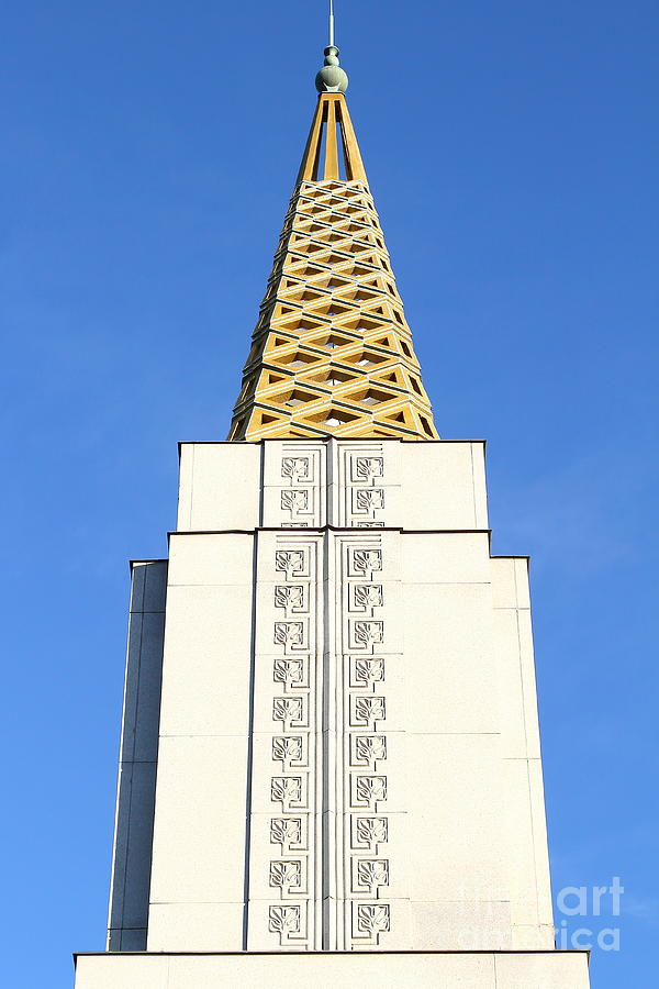 Oakland California Temple . The Church Of Jesus Christ Of Latter-day Saints . 7d11339 Photograph