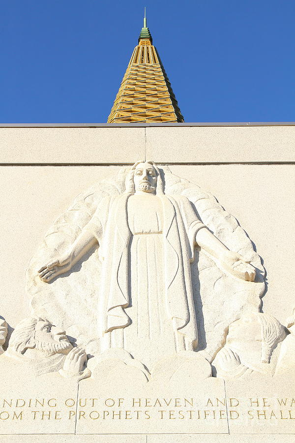 Oakland California Temple . The Church Of Jesus Christ Of Latter-day Saints . 7d11350 Photograph
