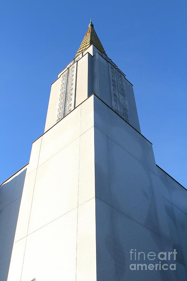 Oakland California Temple . The Church Of Jesus Christ Of Latter-day Saints . 7d11353 Photograph