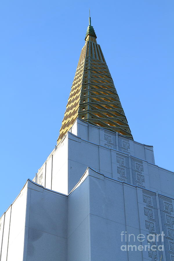 Oakland California Temple . The Church Of Jesus Christ Of Latter-day Saints . 7d11358 Photograph