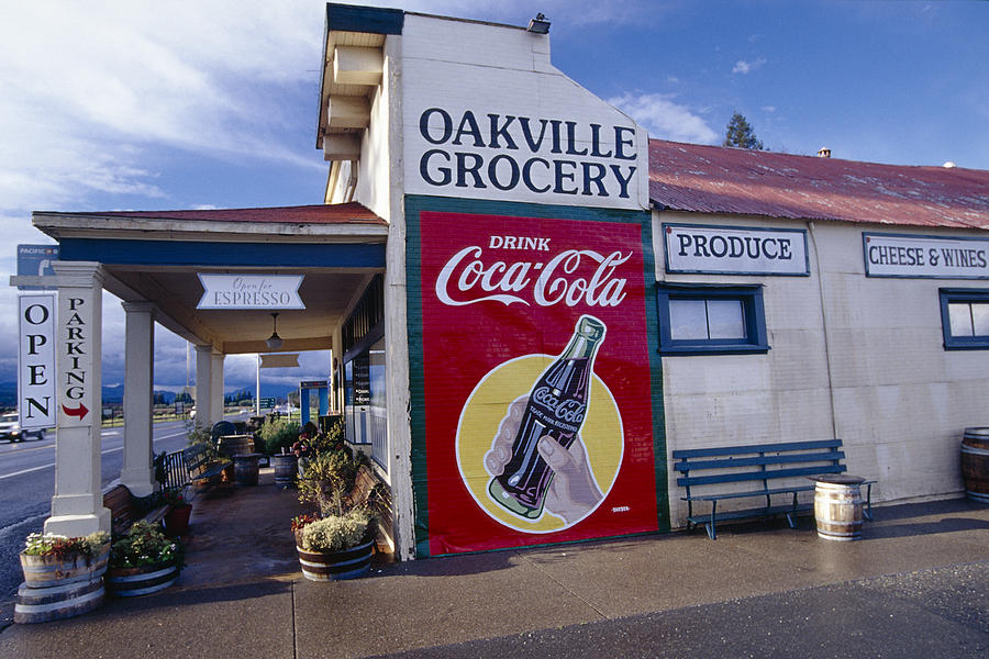 Oakville Grocery Store Napa Valley Photograph