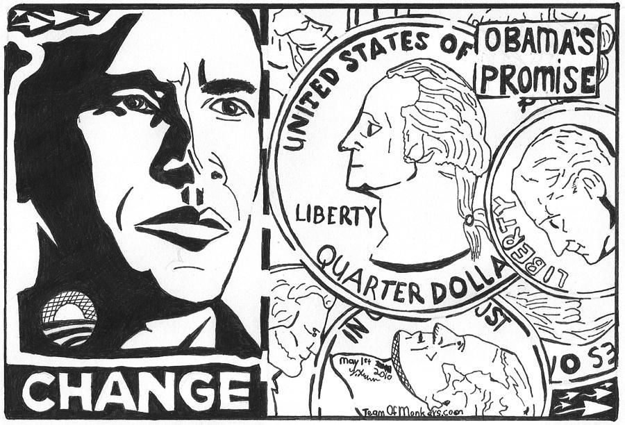 Obamas Promise Drawing