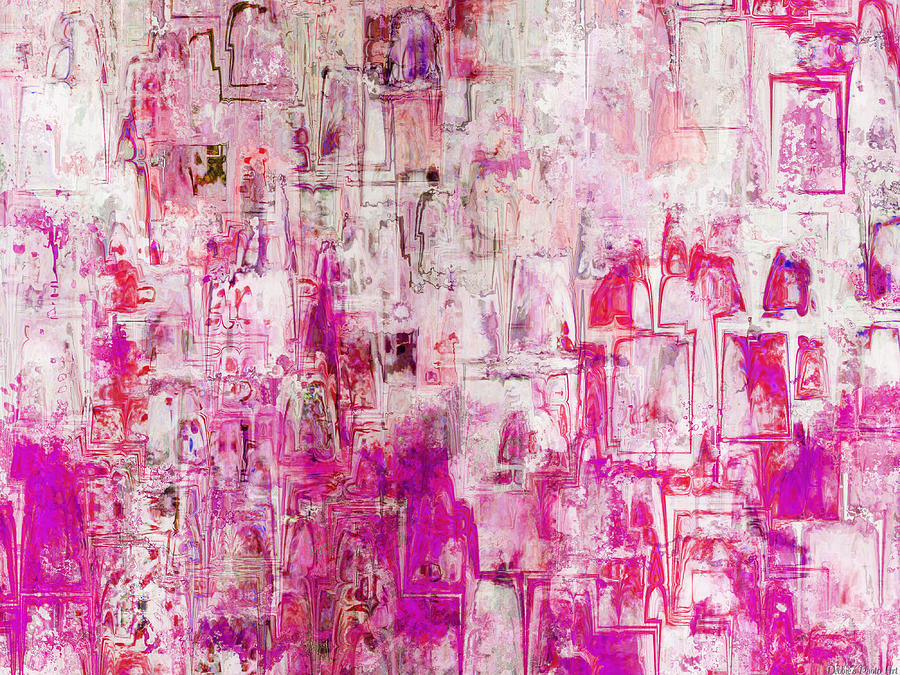 Oblong Abstract I Digital Art