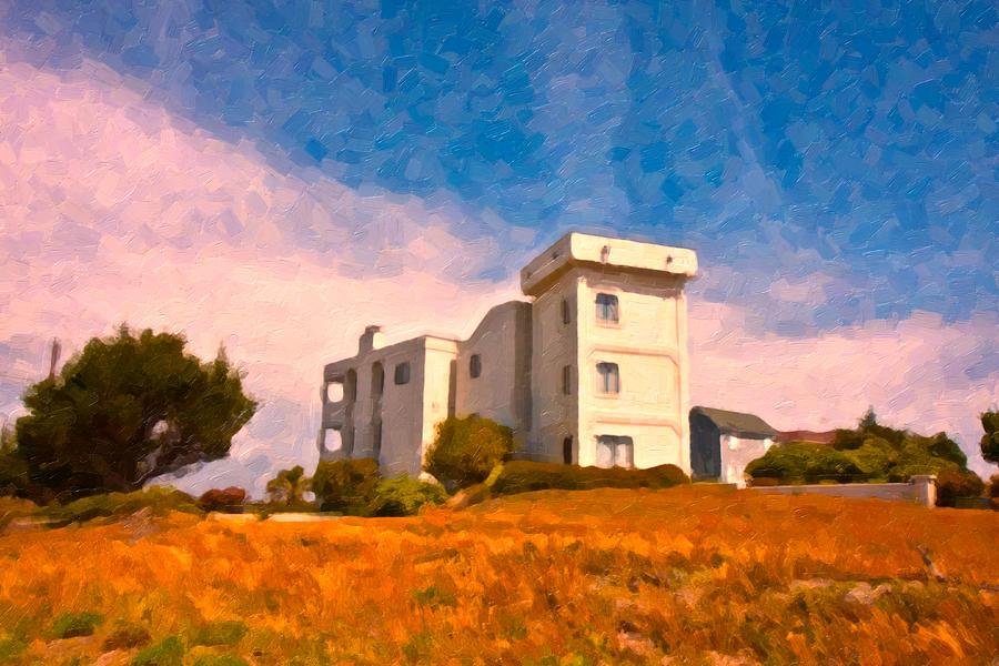 Observation Tower 1 Digital Art