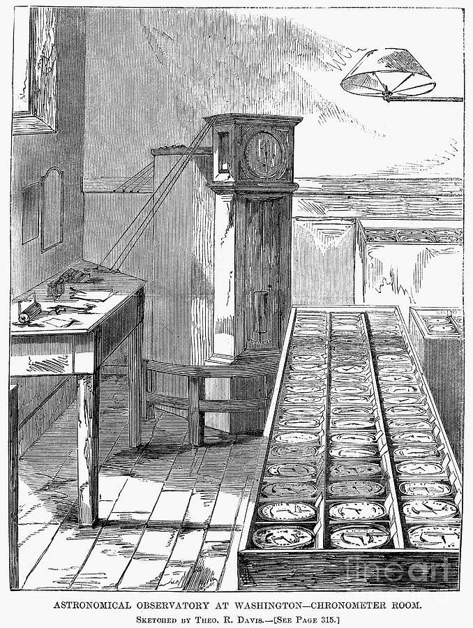 Observatory: Chronometer Photograph