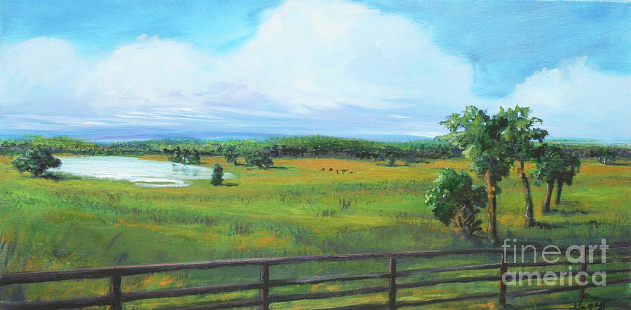 Ocala Downs Painting  - Ocala Downs Fine Art Print