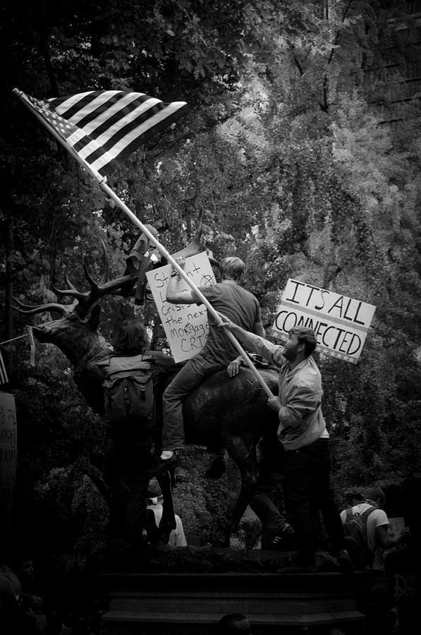 Occupy Portland Photograph  - Occupy Portland Fine Art Print