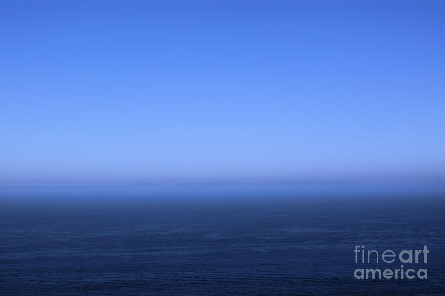 Ocean Blue Photograph  - Ocean Blue Fine Art Print