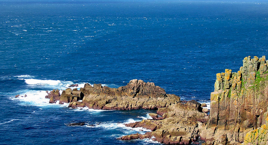 Ocean Cliffs Photograph