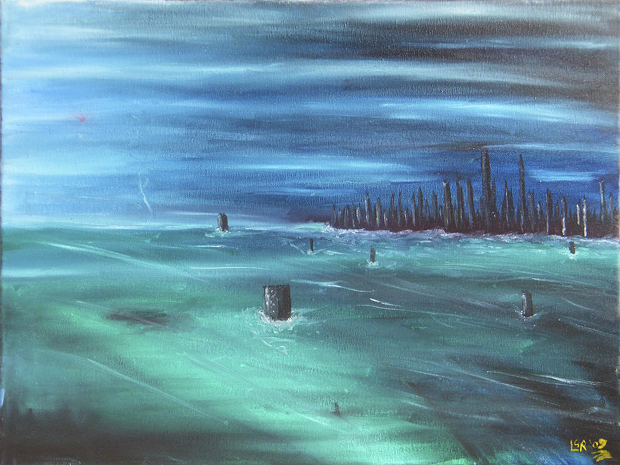 Ocean Front Property Painting
