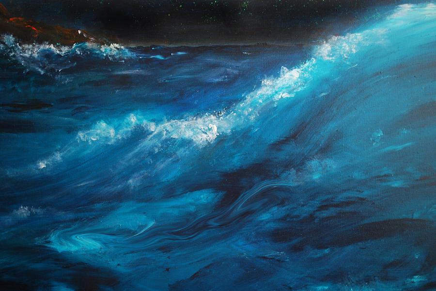 Ocean II Painting